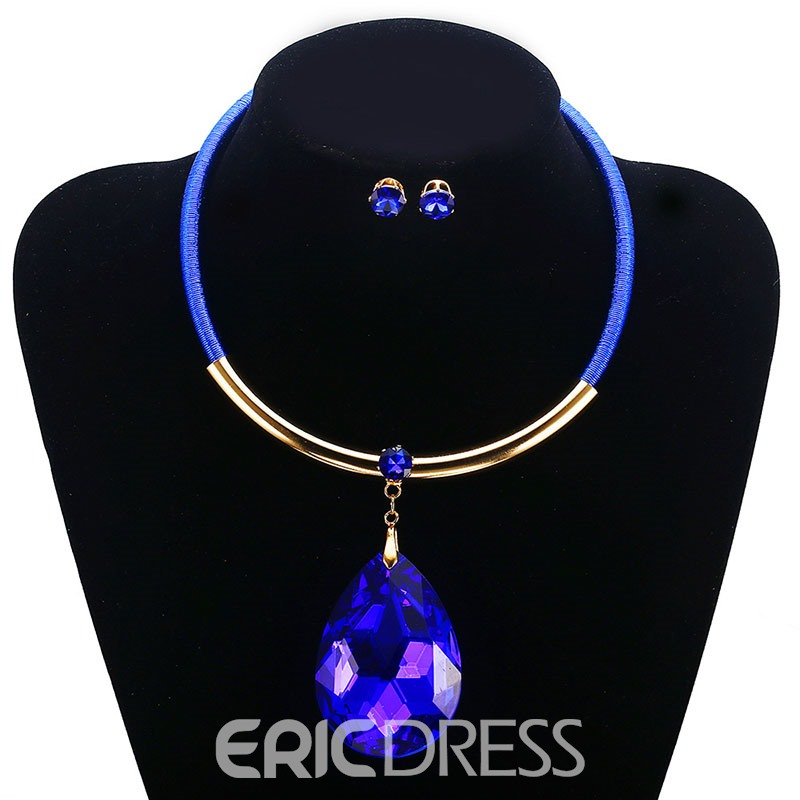Ericdress European Necklace Birthday Jewelry Set