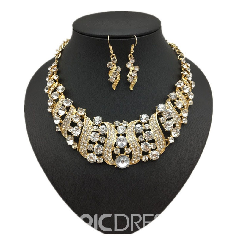Ericdress Colour Gems Jewelry Sets