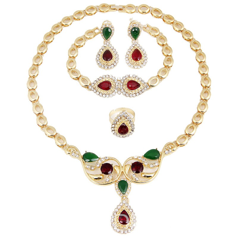 Ericdress Gems Ethnic Style Jewelry Sets
