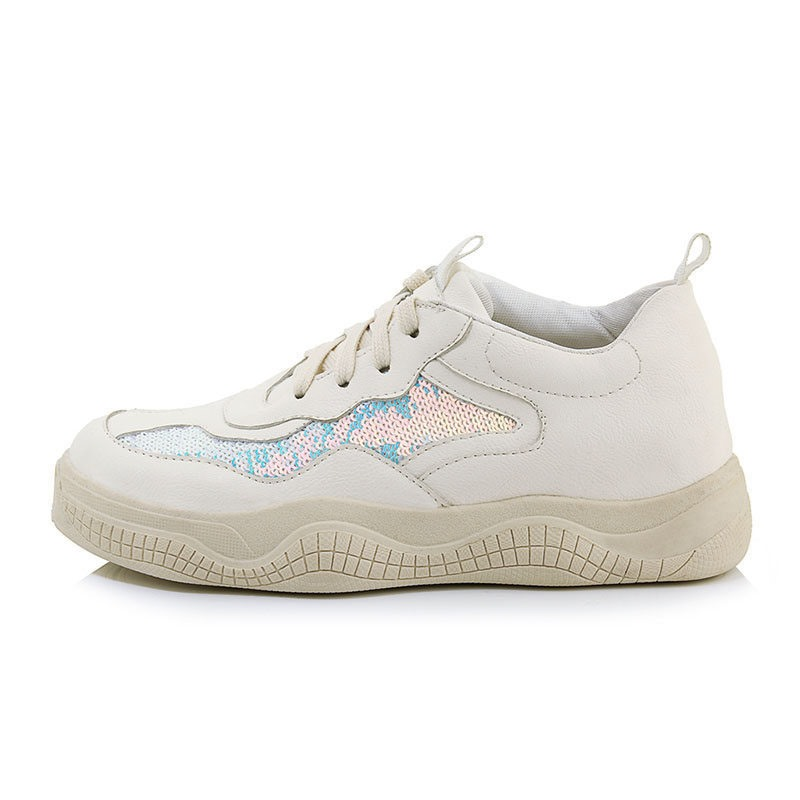 Ericdress PU Color Block Low-Cut Upper Lace-Up Women's Sneakers
