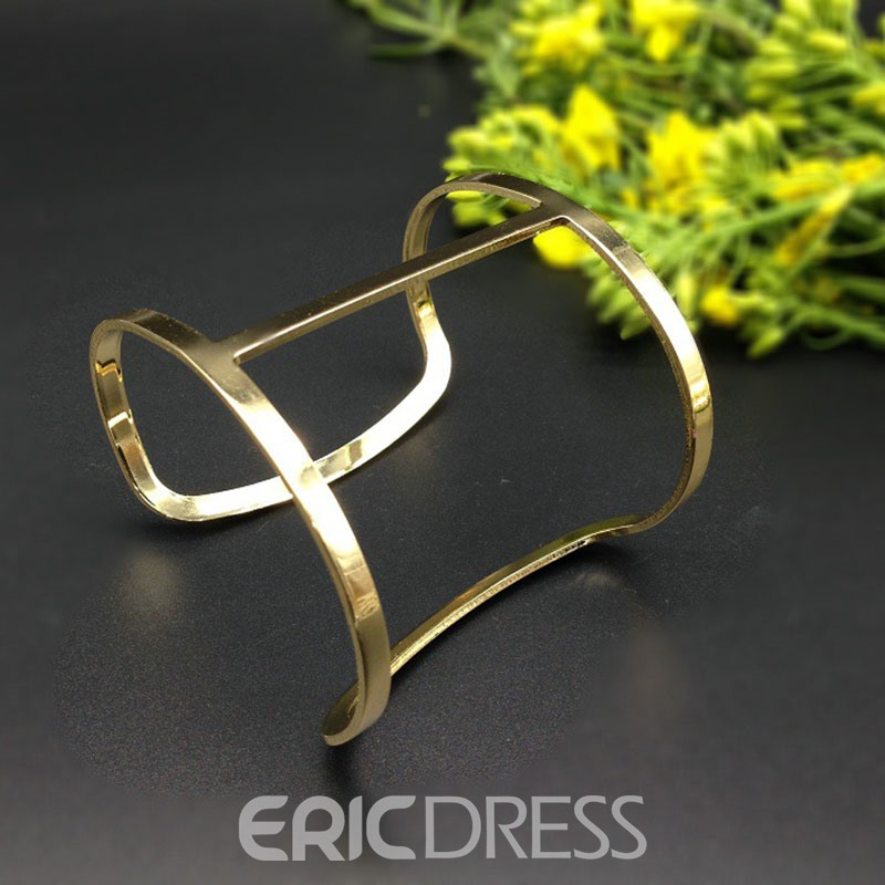 Ericdress Hollow Alloy Female Bracelet