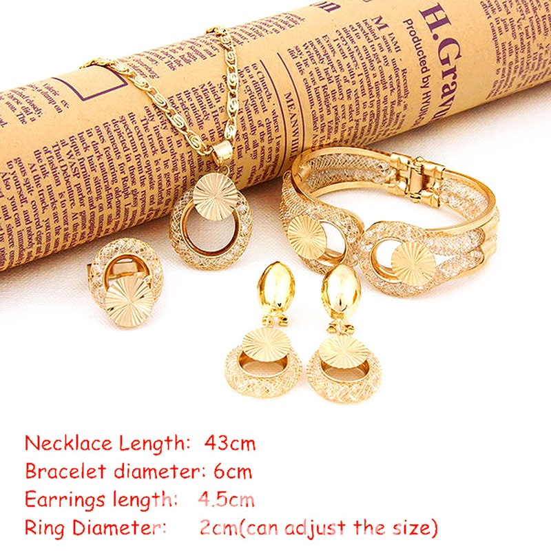 Ericdress Hoop Golden Jewelry Sets