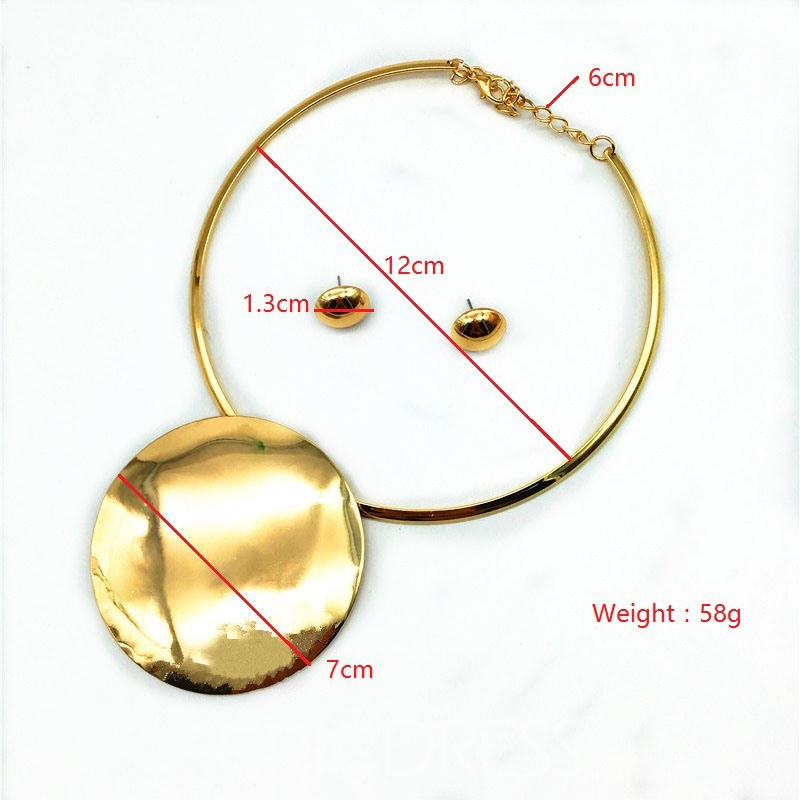 Ericdress Alloy Round Jewelry Sets