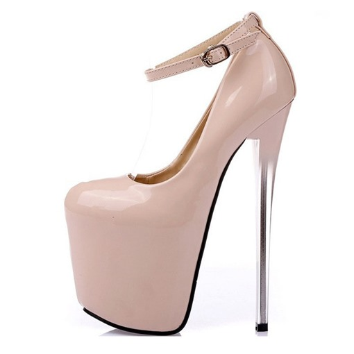 Ericdress PU Platform Stiletto Heel Women's Prom Shoes