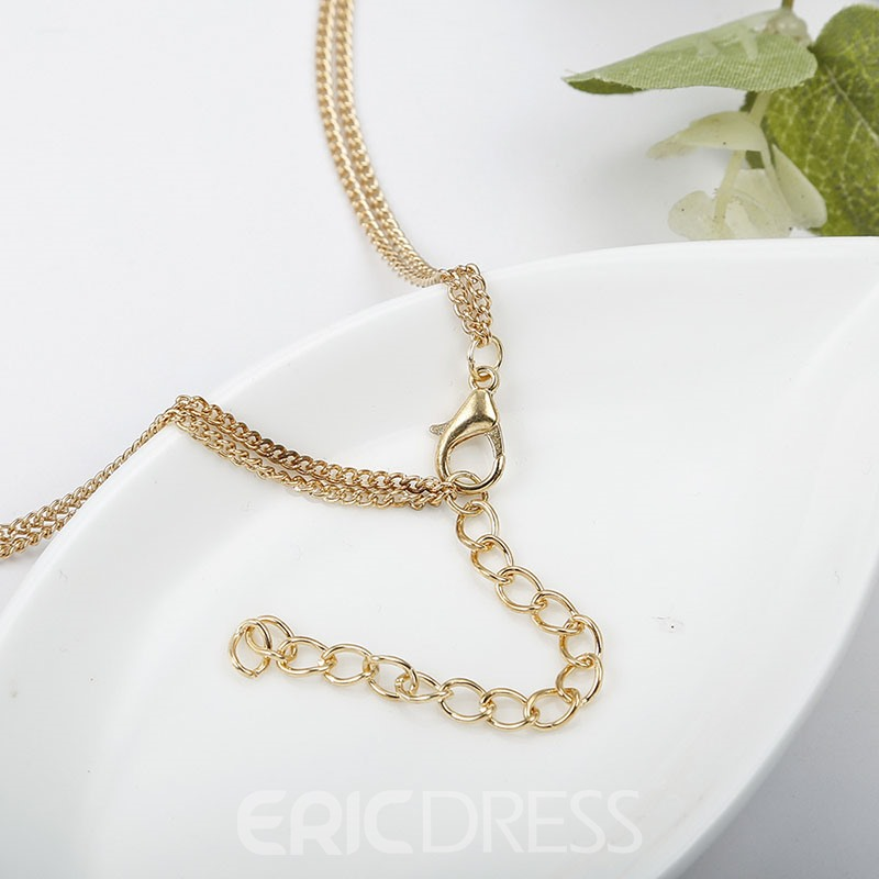 Ericdress Plain Hollow Out Golden Jewelry Sets