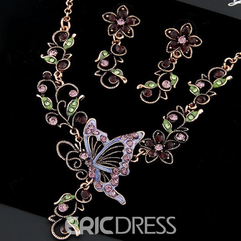 Ericdress Floral Luxury Jewelry Set