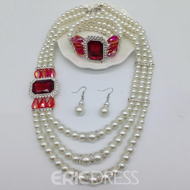 Ericdress Pears Nigeria Style Jewelry Set