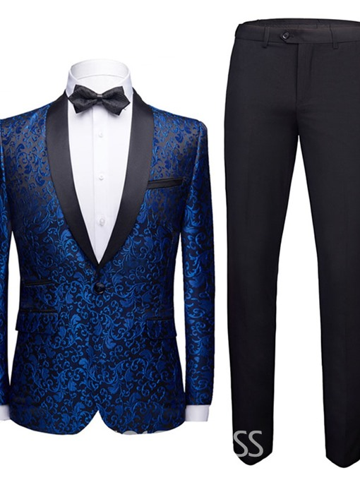Ericdress One Button Fashion Mens Dress Suit