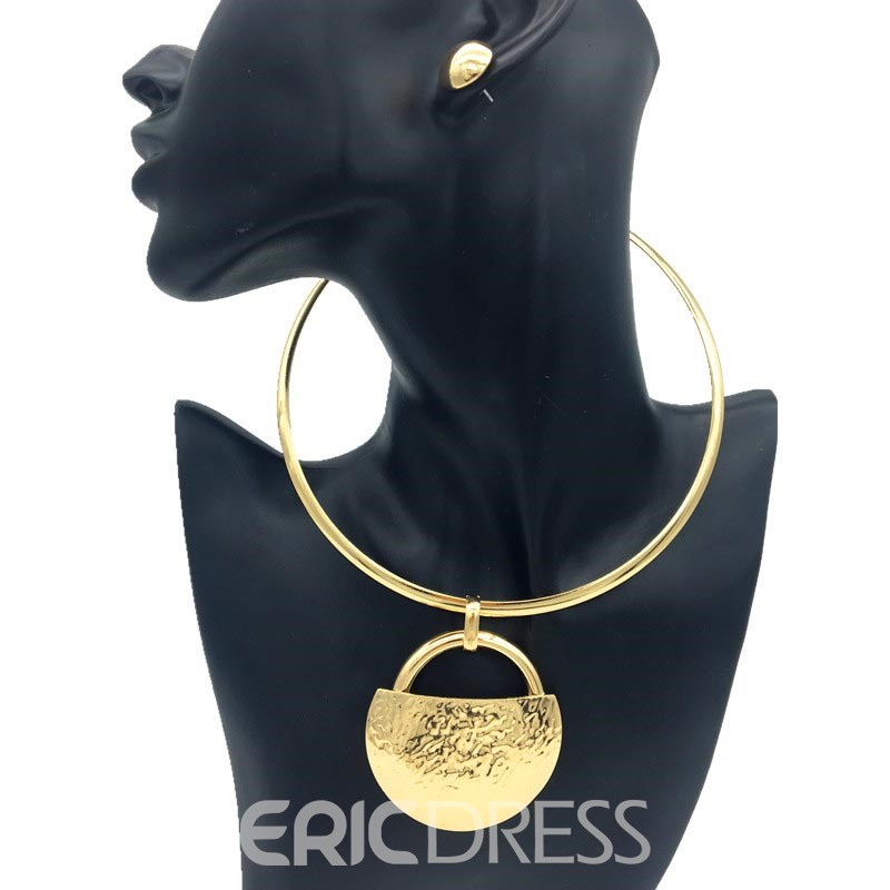 Ericdress Golden Nigeria Style Jewelry Set