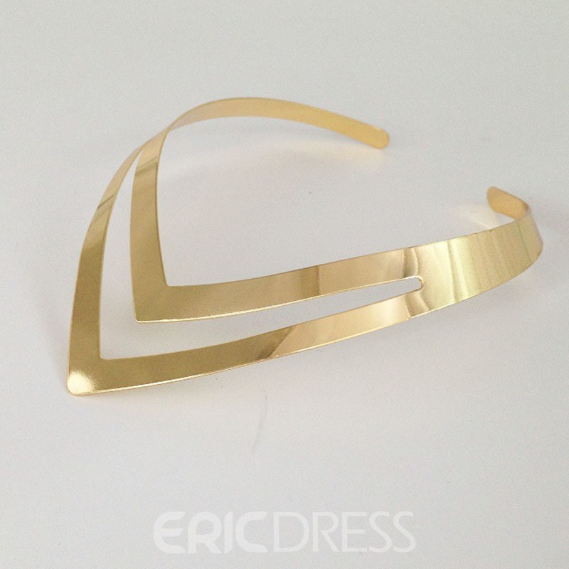 Ericdress Nigeria Style Fashion V Necklace
