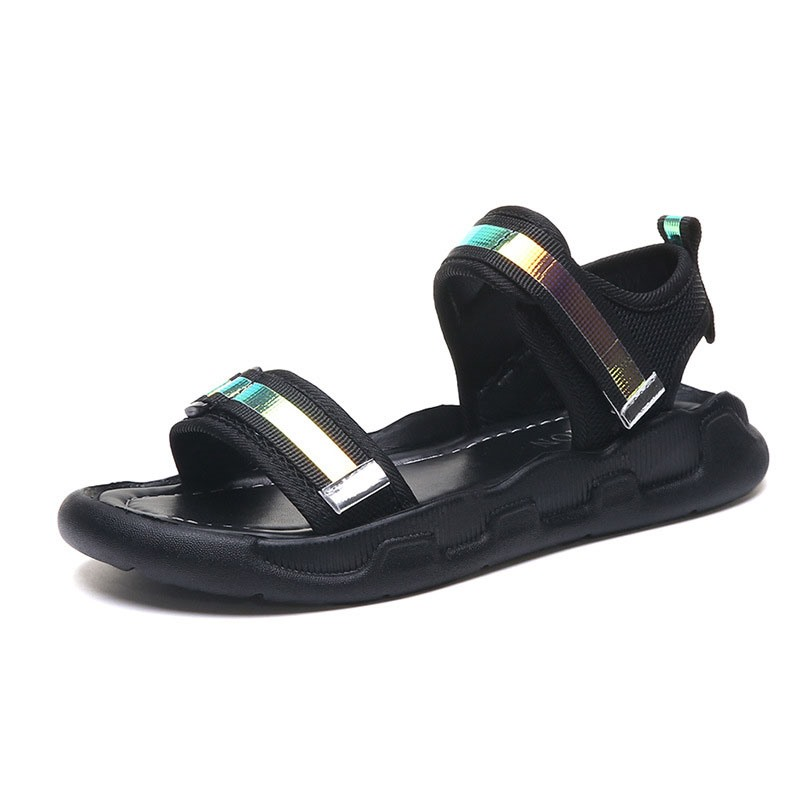 Ericdress PU Velcro Ankle Strap Women's Casual Sandals