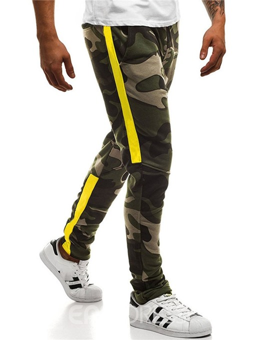 Ericdress Camouflage Mens Casual Pocket Pants