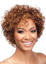 Ericdress Womens Short Length Afro Curly Synthetic Hair Wigs Capless Wigs 14inch фото