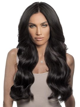 Ericdress 150% Density Women's Body Wave Natural HairLine Synthetic Hair Lace Front Wigs 24inch