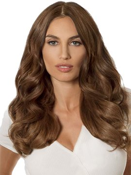 Ericdress 150% Density Women's Medium Length Wavy Synthetic Hair Lace Front Cap Wigs 20Inch
