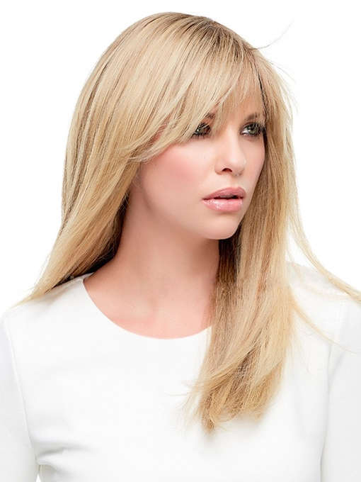 Ericdress Women's Blonde Natural Straight Synthetic Hair Capless Wigs 20inches
