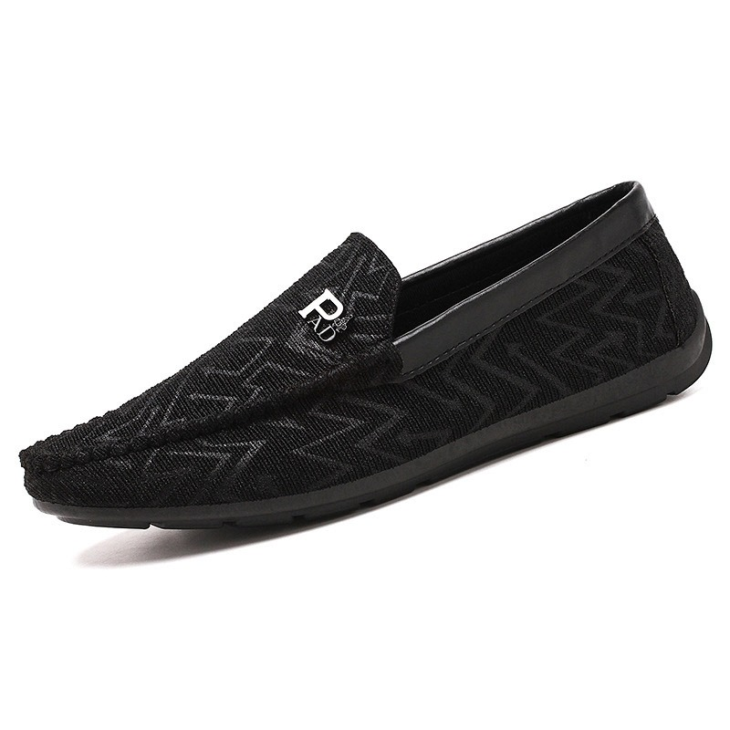 Ericdress Plain Round Toe Low-Cut Upper Slip-On Men's Casual Shoes
