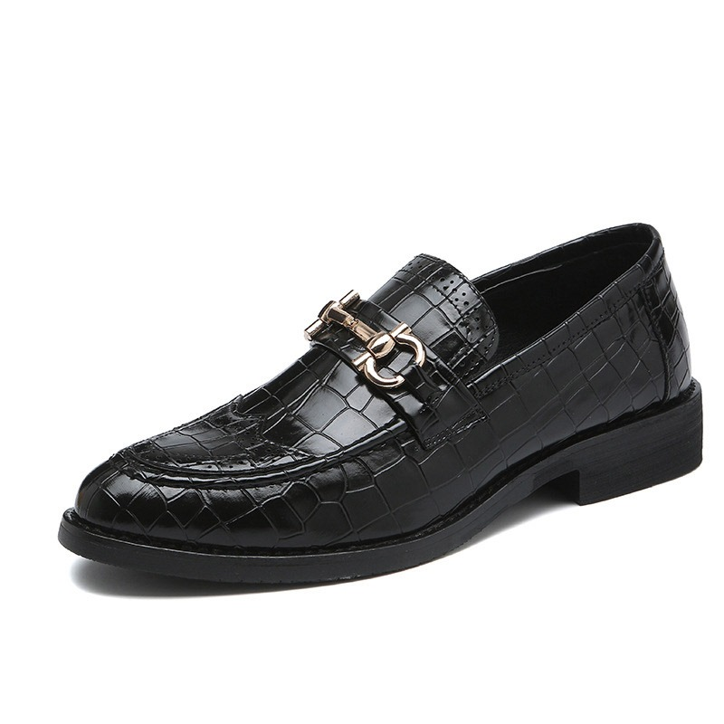 Ericdress Plain Slip-On Round Toe Men's Oxfords