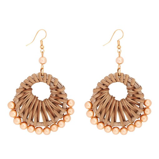 Ericdress Woven Wood Handmade Earrings