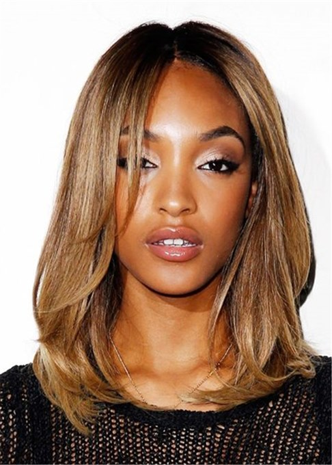 Ericdress Women's Natural Straight Synthetic Hair Wigs Capless Wig 16inch