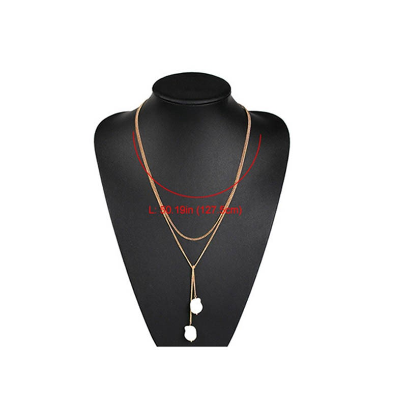 Ericdress Pendant Pearl Inlaid Female Necklace