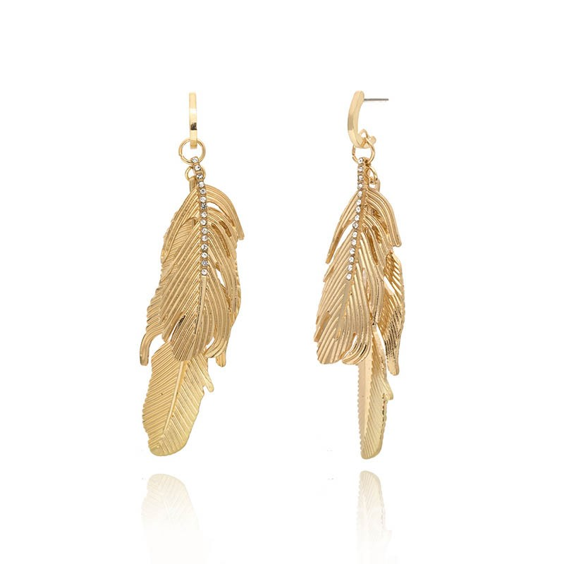 Ericdress Alloy Feather Style Earrings