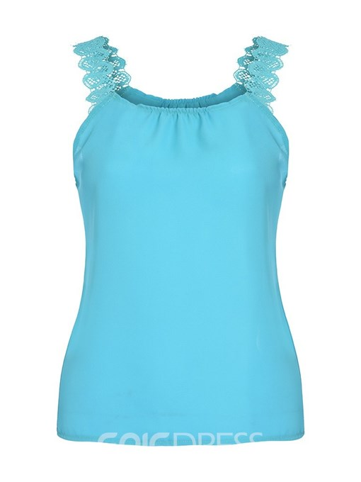 Ericdress Backless Polyester Summer Casual Tank Top