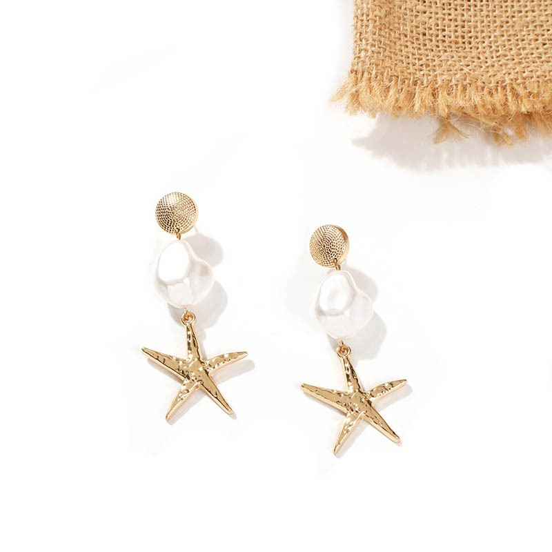 Ericdress Alloy Star Party Earrings