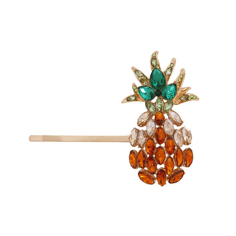 Ericdress Crystal Pineapple Hairpin Hair Accessories