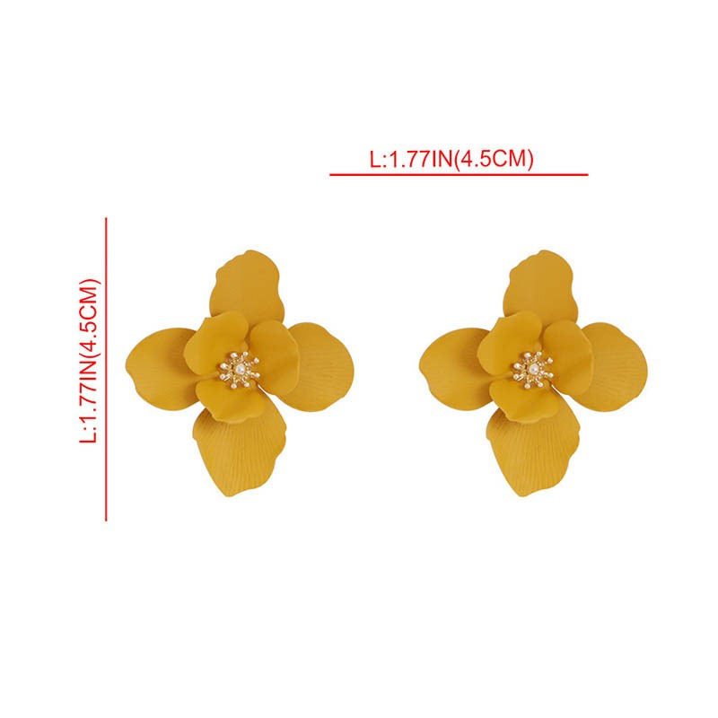 Ericdress Floral Fashion Prom Earrings