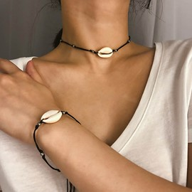 Ericdress Geometric Choker Necklace