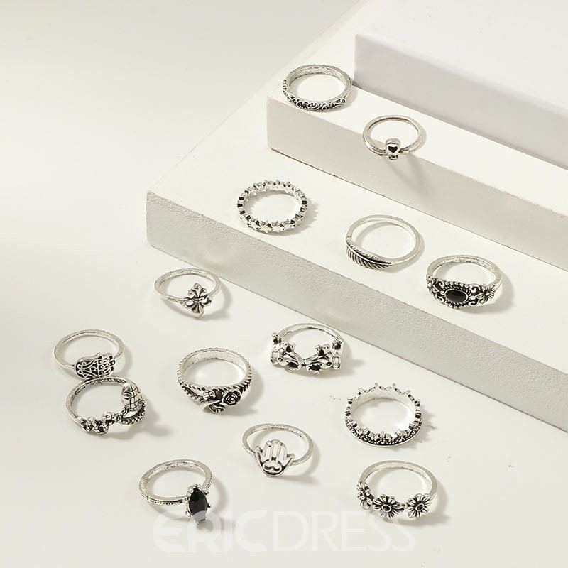 Ericdress Fashion Alloy Party Ring
