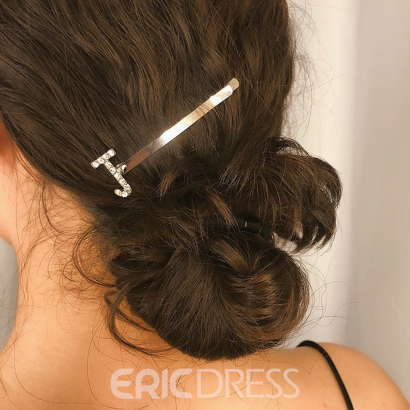 Ericdress Letter Sweet Dimante Hair Accessories