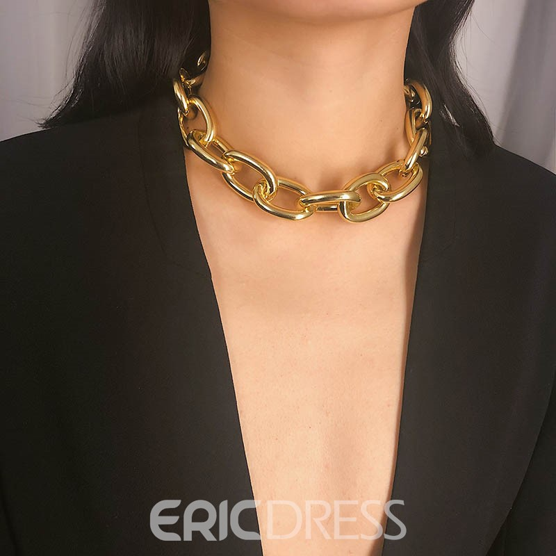 Ericdress Hoop Alloy Necklaces