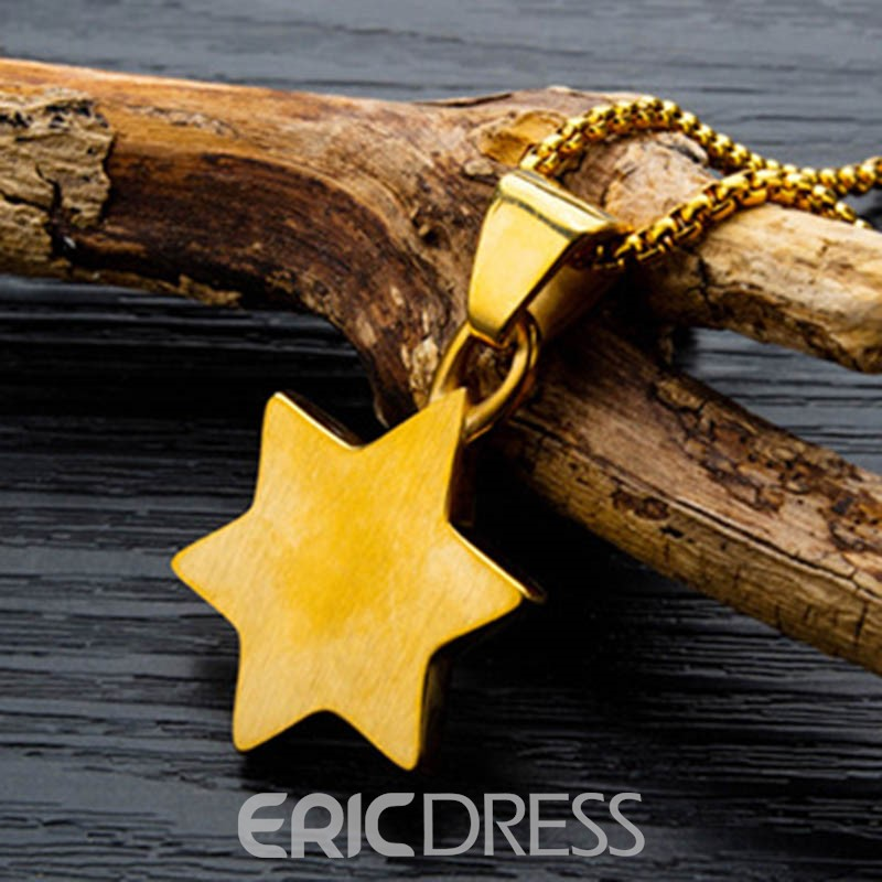 Ericdress E-Plating Star Alloy Male Necklaces