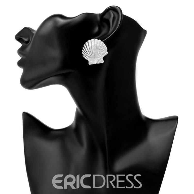 Ericdress Alloy Shell Earrings