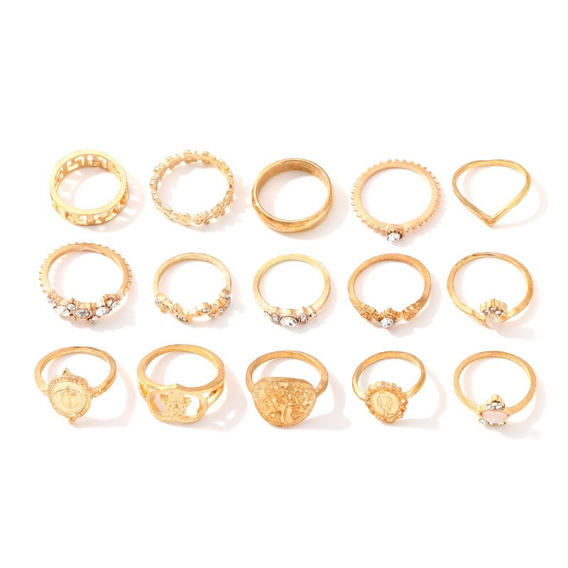 Ericdress Vintage Alloy Holiday Rings