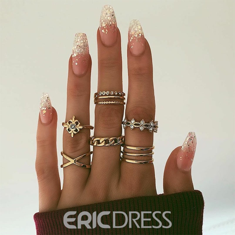 Ericdress Diamante Fashion Prom Ring