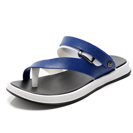 Ericdress Simple Toe Ring Slip-On Men's Sandals