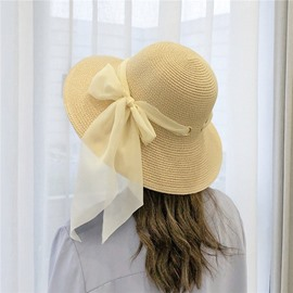 Ericdress Chiffon Casual Straw Hat