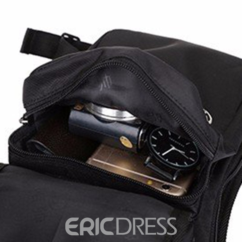 Ericdress Men Thread Nylon Waist Bag
