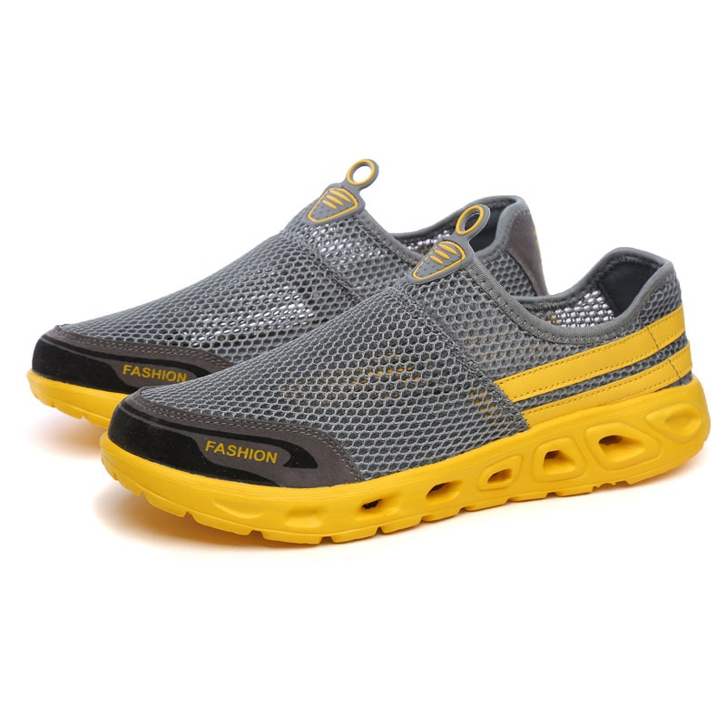 Ericdress Mesh Round Toe Slip-On Men's Casual Shoes