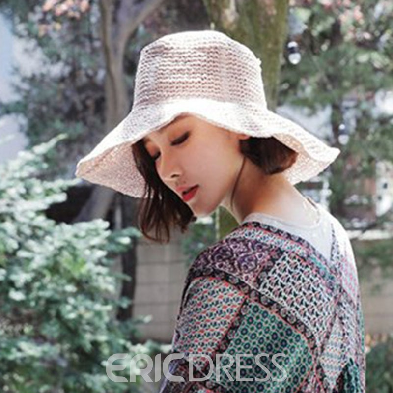 Ericdress Summer Straw Hat