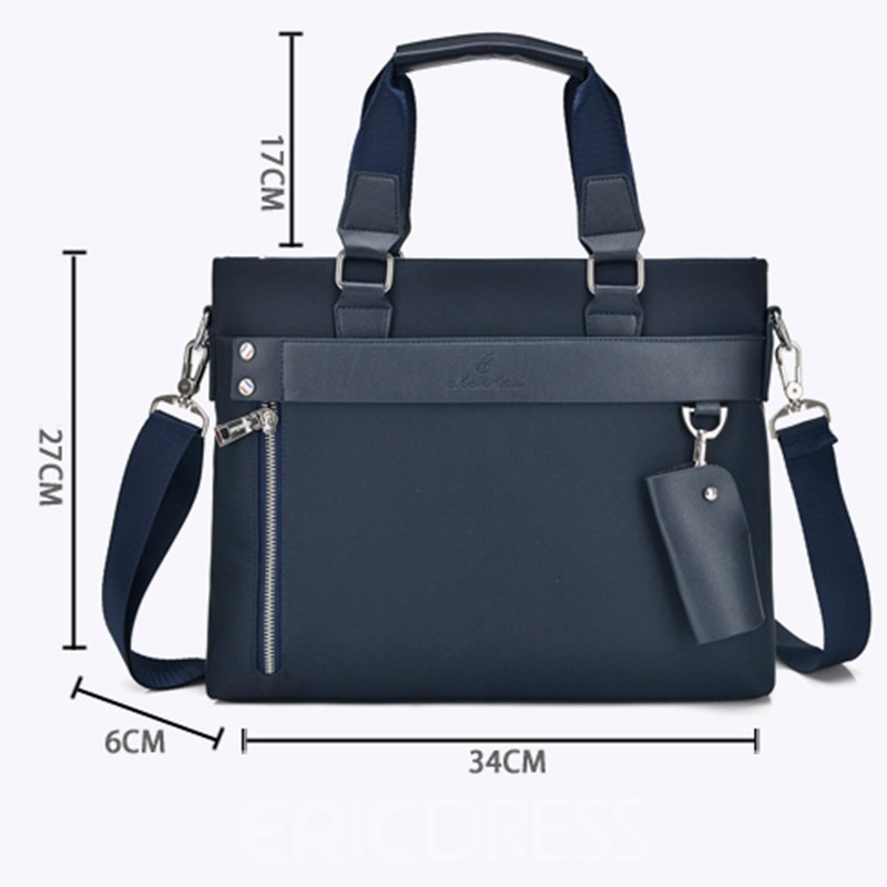 Ericdress Business Belt-Decorated PU Plain Square Tote Bag