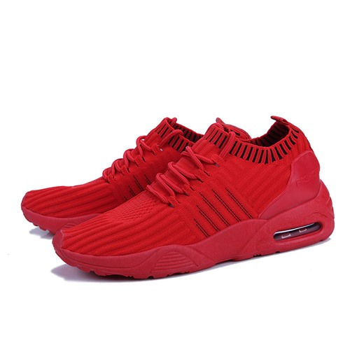 Ericdress Breathable Mesh Round Toe Lace-Up Men's Athletic Shoes
