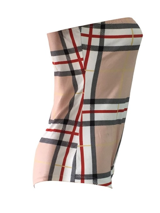 Ericdress Sexy Print Color Block Skinny Romper