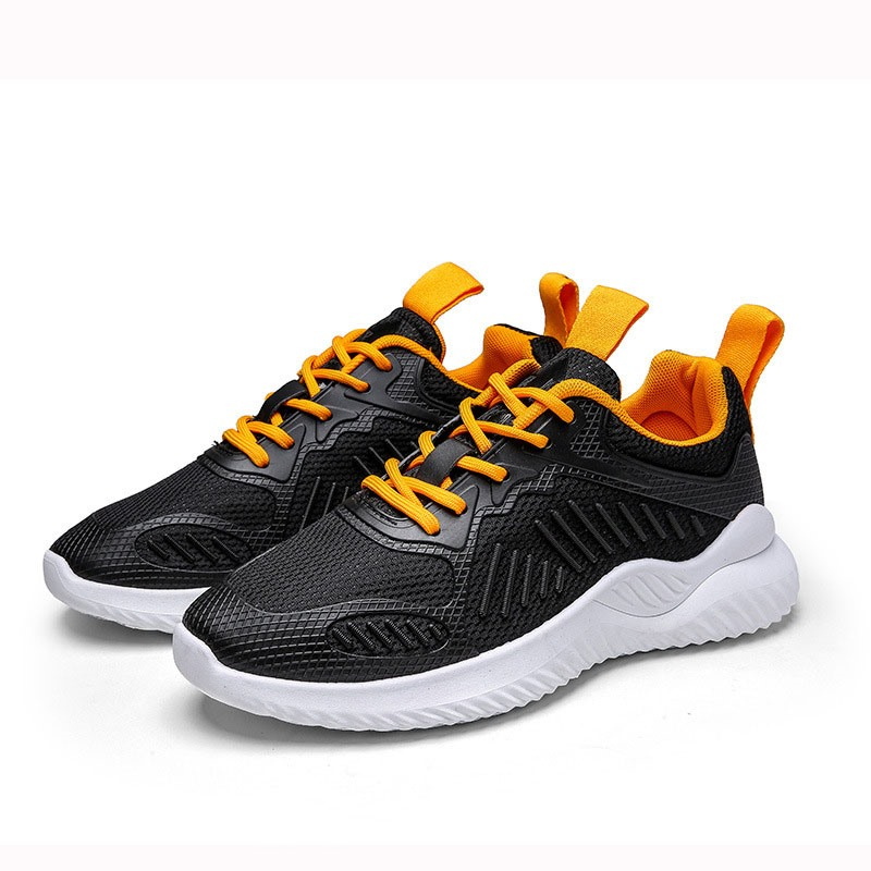 Ericdress Color Block Low-Cut Upper Lace-Up Mesh Men's Sneakers