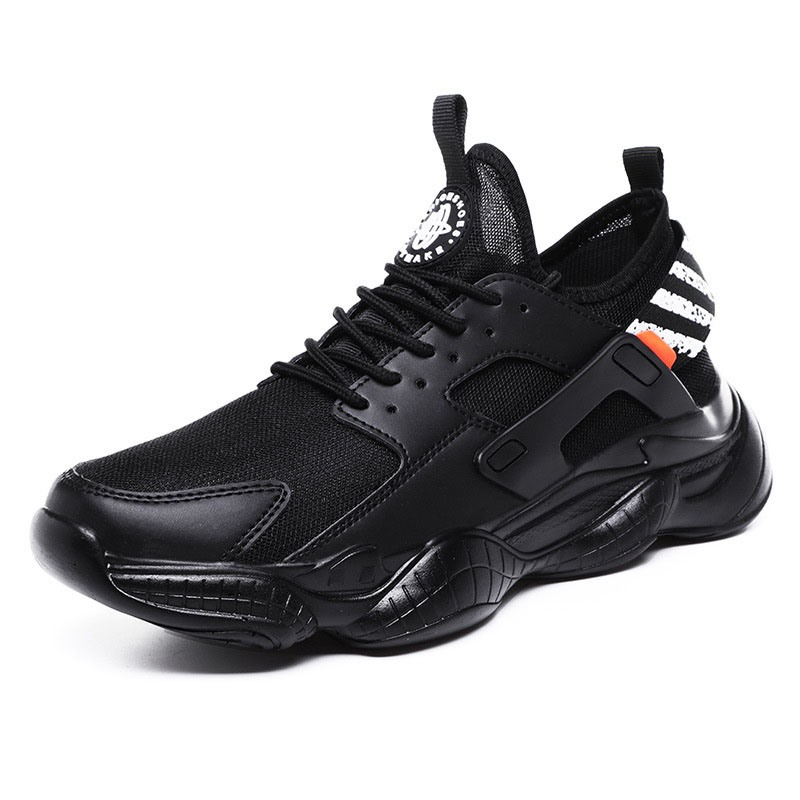 Ericdress Stripe Lace-Up Low-Cut Upper Men's Sneakers