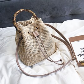 Ericdress Grass Knitted Shoulder Bag