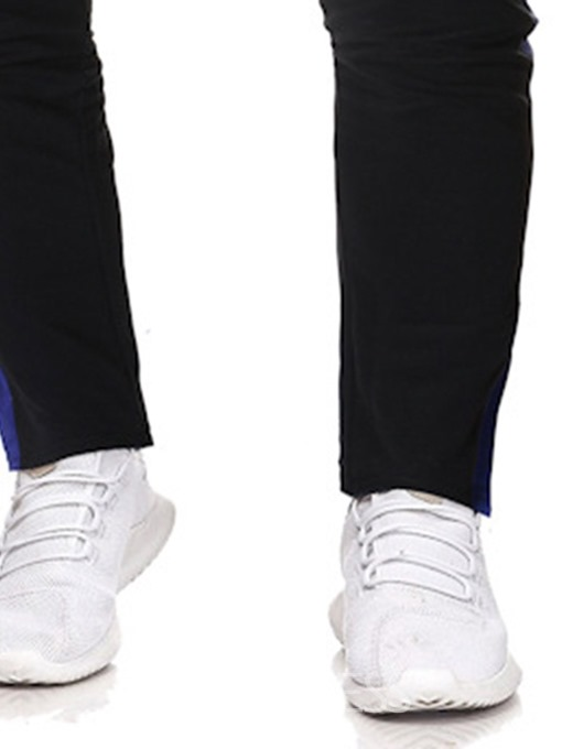 Ericdress Overall Thin Color Block Low Waist Mens Casual Pants